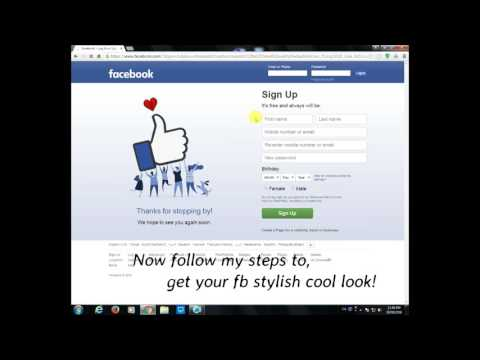 How to give your Facebook cool, new, awesome look & more features!
