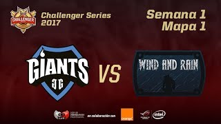 GIA VS WAR - MAPA 1 - JORNADA 1 - CHALLENGER EN CASTELLANO - #CHALLENGERLVP