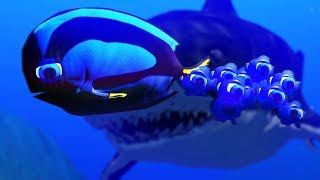 DORY PROTECTS HER KIDS - Feed and Grow Fish - Part 48 | Pungence