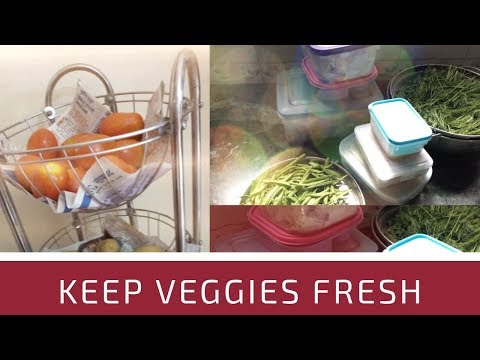 How to store vegetables in fridge || vegetable planing for a week