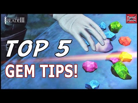 Infinity Blade 3: Top 5 Gem Tips!