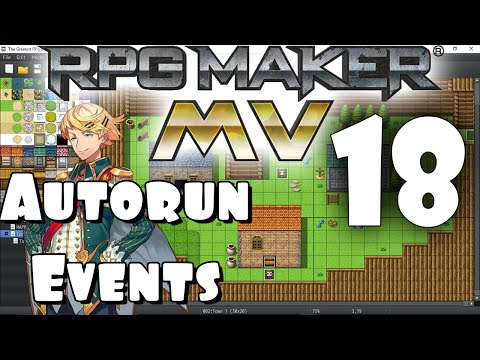 RPG Maker MV Tutorial #18 - Autorun Events!
