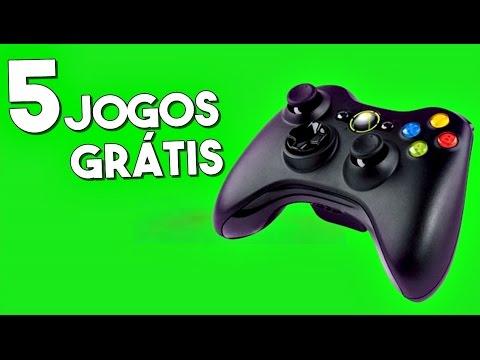 5 JOGOS GRÁTIS NO XBOX 360