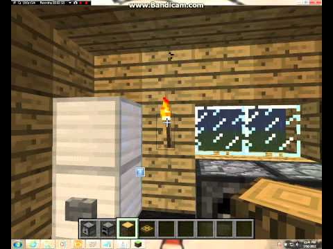 How to make a simple kitchen in minecraft