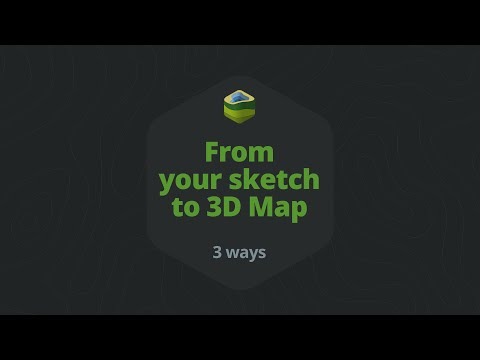 From your sketch to 3d map - 3D Map Generator 2 - Photoshop