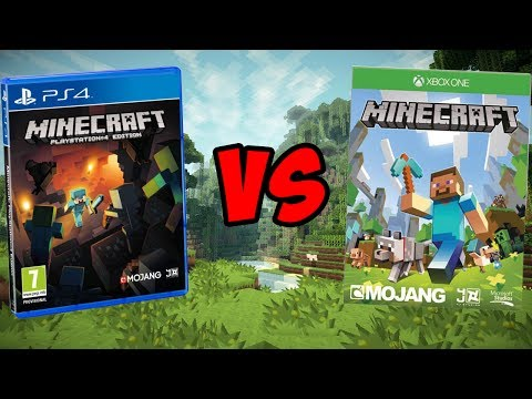 Minecraft Xbox One VS Minecraft PS4! | Which is Better?