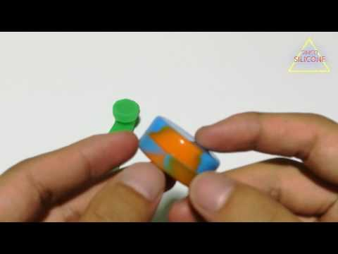best concentrate container / silicone oil jar - silicone product exporter
