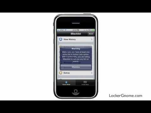 Call blocking for iPhone with iBlacklist