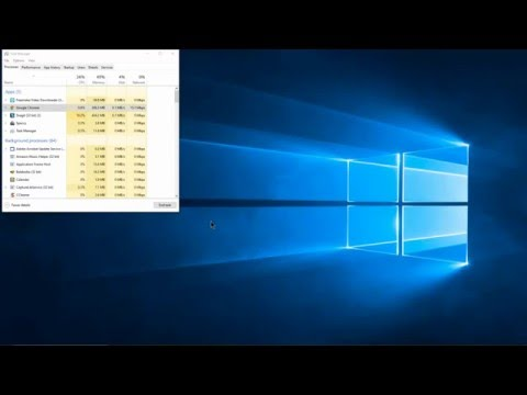 How to use Task Manager to end a process in Windows 10