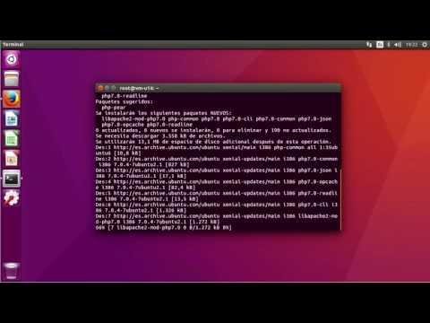 Apache Web Server Ubuntu 16 04