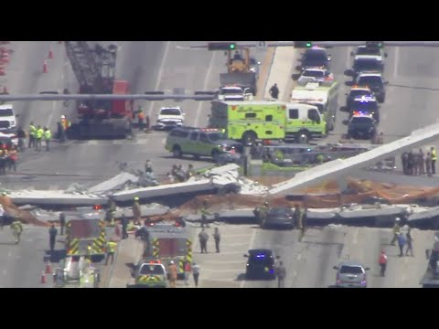 NTSB releases preliminary report into FIU pedestrian bridge collapse Wednesday