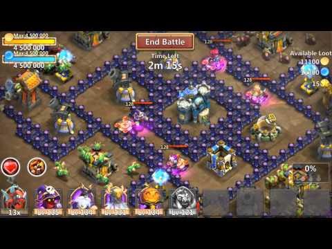 Castle Clash Gameplay Trailer
