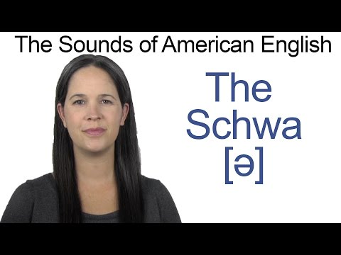 American English Sounds - UH [ə] Vowel - How to make the SCHWA Vowel
