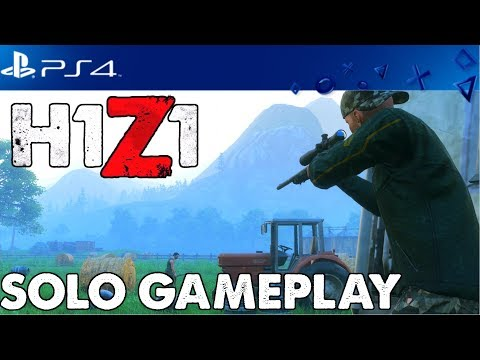 H1Z1 PlayStation 4 Open Beta Gameplay - Solo Wins