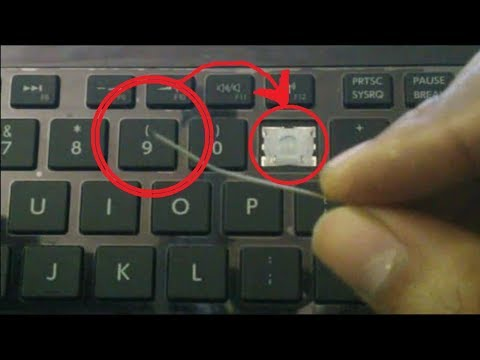 how to repair keyboard keys not working laptop