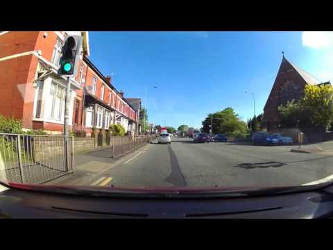 Prestwich, Manchester to Knutsford, Cheshire Tuesday Morning 30th May 2016