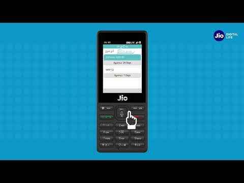 JioCare - How To Manage Jio Account & Services using MyJio App on JioPhone (Telugu)| Reliance Jio