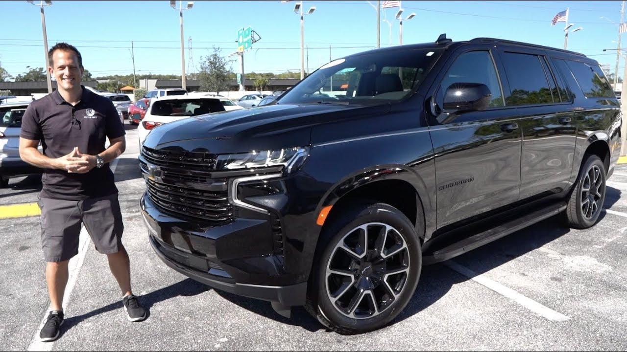 Why is the 2021 Chevrolet Suburban RST the best BIG SUV to BUY