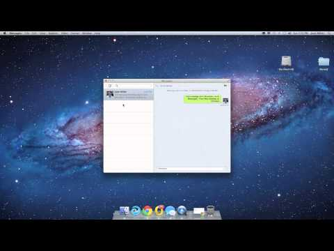 Use Mac iMessages for Cisco Jabber