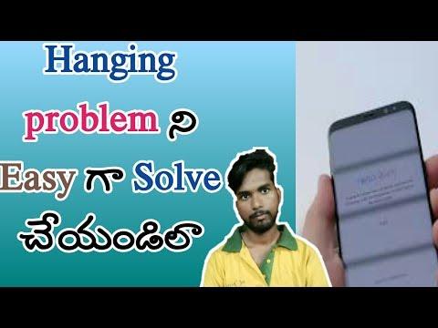 Solve mobile hanging problem in telugu | kiran youtube world