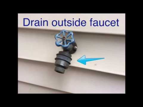 How to Prevent Outdoor Faucet From Freezing. Cheap & Easy Fix