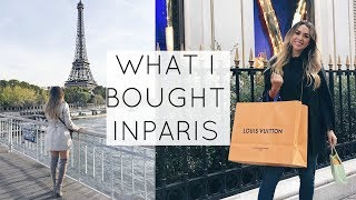 WHAT I BOUGHT IN PARIS! ALEXANDREA GARZA