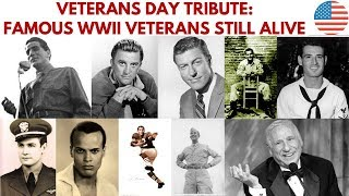 Veterans Day special: Famous WWII veterans still alive #VeteransDay2019