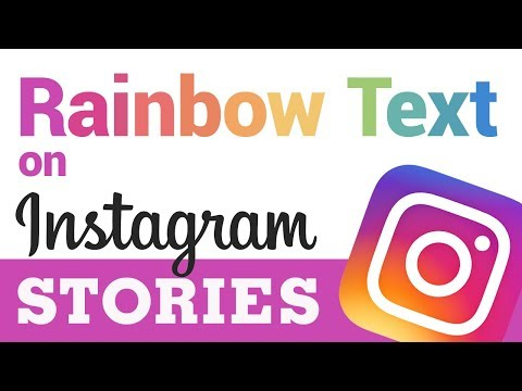 How to Get Rainbow Text on Instagram Stories (Easy Under 1 Minute!)