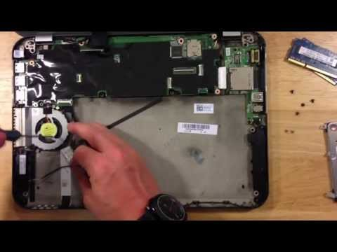 Dell Inspiron 13z 5323 Core i3 Teardown Disassembly HOW TO Replace HDD Hard drive Battery and more