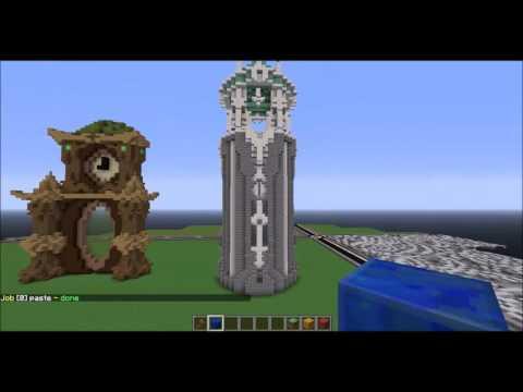 World edit tutorial - COPY, PASTE, FLIP, ROTATE!