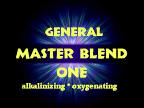 Wow...Amazing!  Increase In Oxygen? In Alkaline? MASTER BLEND ONE (for General Well-Being)