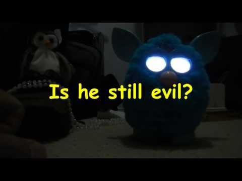 Contest! Free Furby!  Furby comes back to life after fatal energy failure and scares dog!