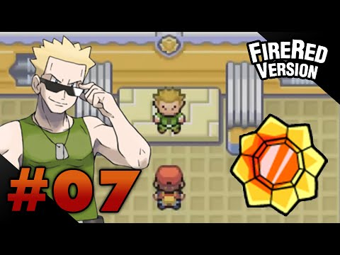 Let's Play Pokemon: FireRed - Part 7 - Vermilion Gym Leader Lt. Surge