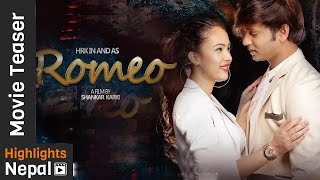 Romeo - New Nepali Movie Official Teaser Ft. Hassan Raza Khan, Nisha Adhikari, Oshima Banu | 4K