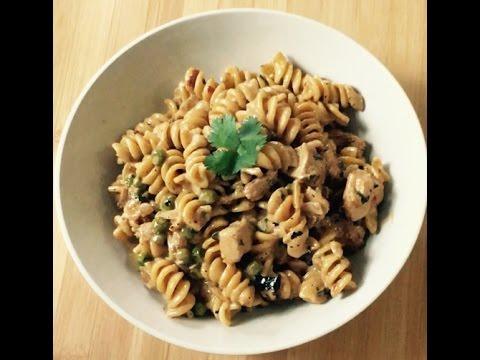 Spicy chicken chipotle pasta- copycat Cheesecake Factory dish recipe