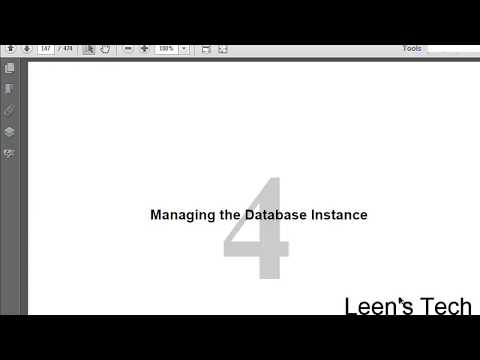 Oracle DBA 11g Tutorial in Bangla: Lesson#4 Part#3 Managing the Database Instance