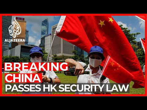 China passes Hong Kong security law, deepening fears for future