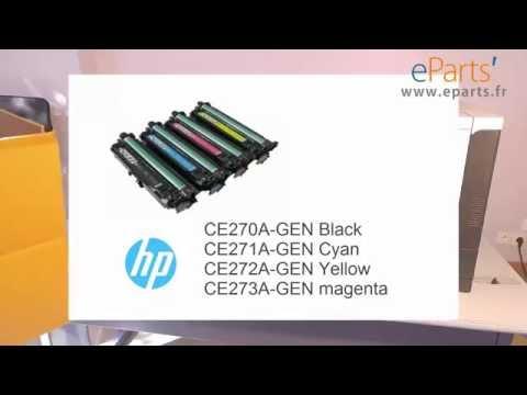 HP CP5525 Replace a transfert belt CE516A