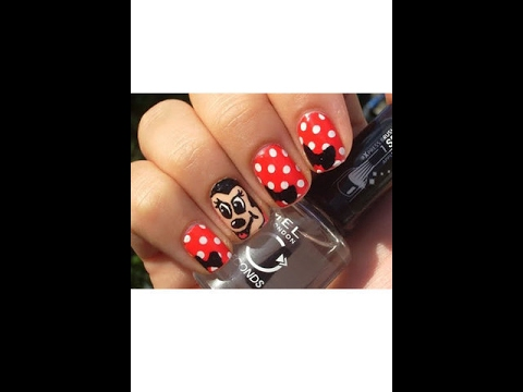 Easy Nail Art By using Only 2 Nail Colours