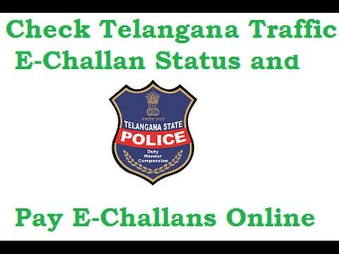 Telangana Traffic eChallan Status and Pay Traffic E-Challan Online, Violation images