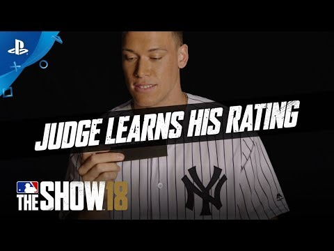 MLB The Show 18 – Rating Reactions: Aaron Judge | PS4