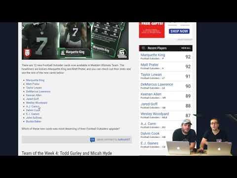 MUT Reviews | Football Outsider Reviews | Madden 18 Tips