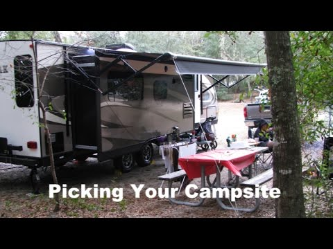 How To Pick Your Campsite