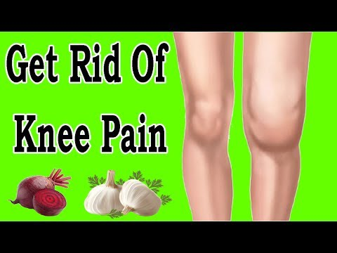 Best Natural Home Remedies To Get Rid Of knee Pain Naturally