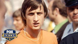 Footballers pay tribute to Johan Cruyff on social media