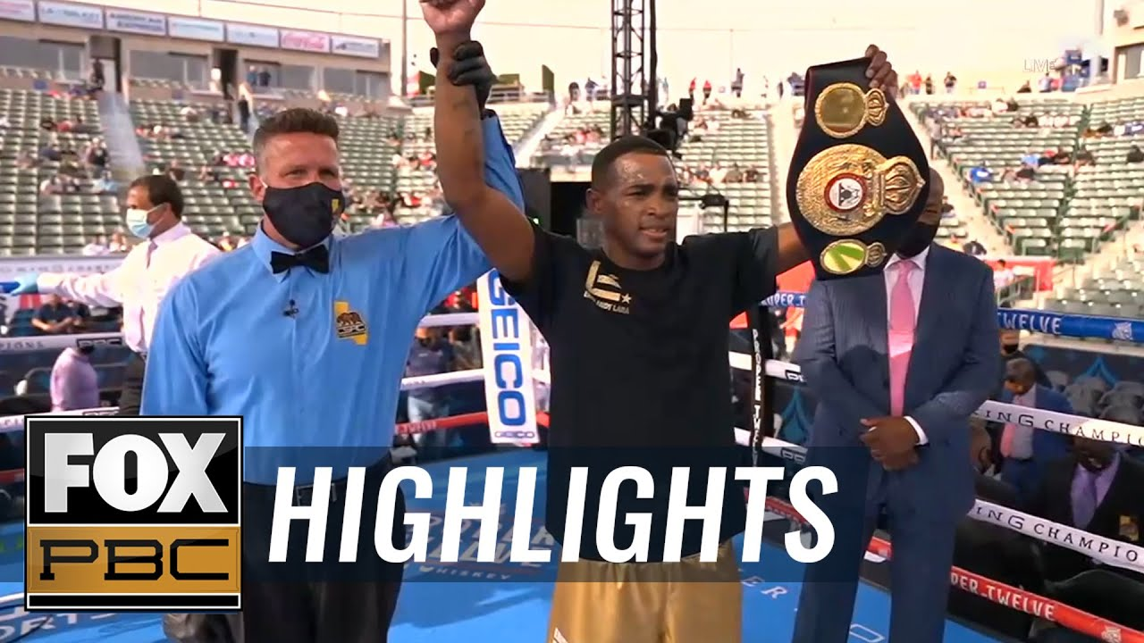 "Erislandy Lara KO's Lamanna to win the WBA ""Regular"" Middleweight Title | HIGHLIGHTS | PBC ON FOX"