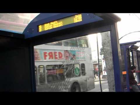 Bus traffic, Corporation St (south), Birmingham UK