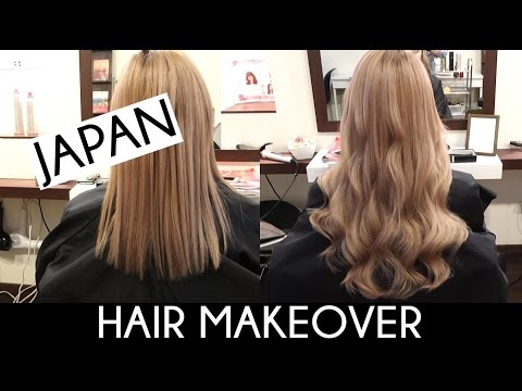 TAPE IN HAIR EXTENSIONS IN JAPAN   Nalu76 Salon Makeover vlog
