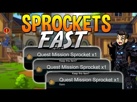 How to get Sprockets FAST FREE AC BANK PET AQW 2016