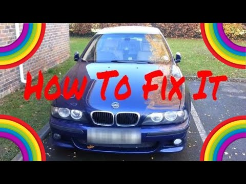 BMW E39 ABS and ASC How To Fix Fault, Test & Diagnose Issues